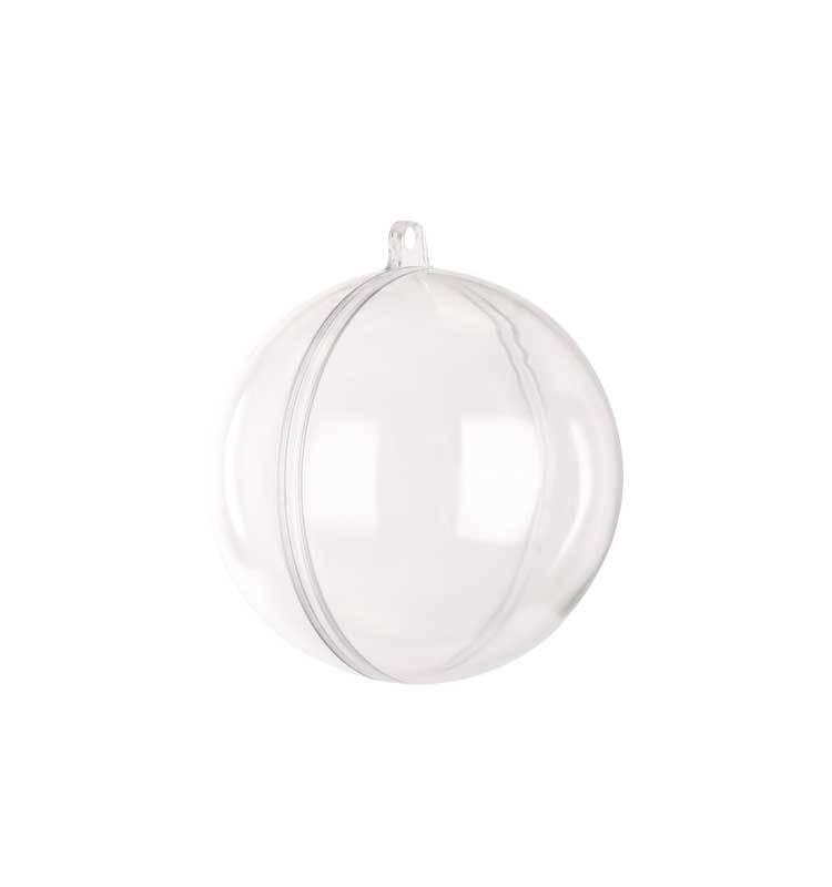Plastic bol - 2-delig, Ø 80 mm