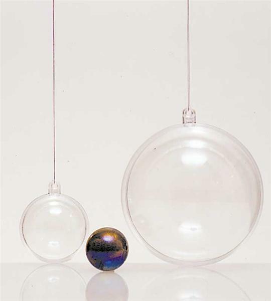 Kugel glasklar - 2-teilig, Ø 80 mm