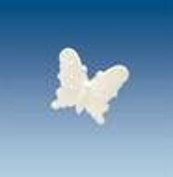 Polystyrène expansé - papillon, 11 x 12,5 cm