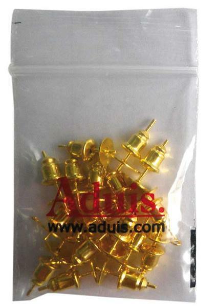 Oorbellen - 20 st./pak, goudkleurig