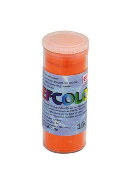 Gekleurd glazuurpoeder - 10 ml, oranje