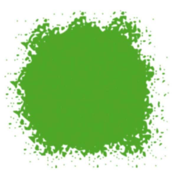 Gekleurd glazuurpoeder - 10 ml, meigroen