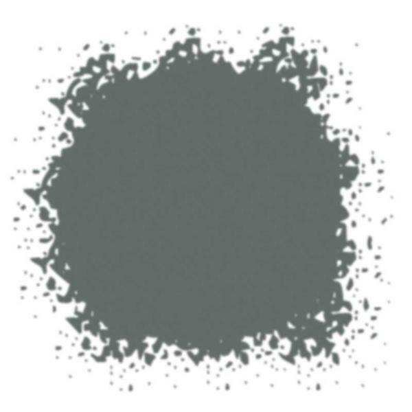 Gekleurd glazuurpoeder - 10 ml, donkergrijs