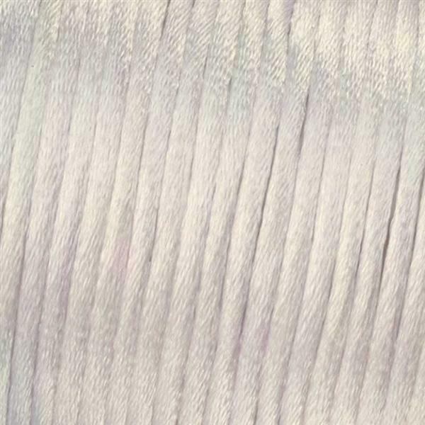 Corde de satin Ø 1 mm, blanc