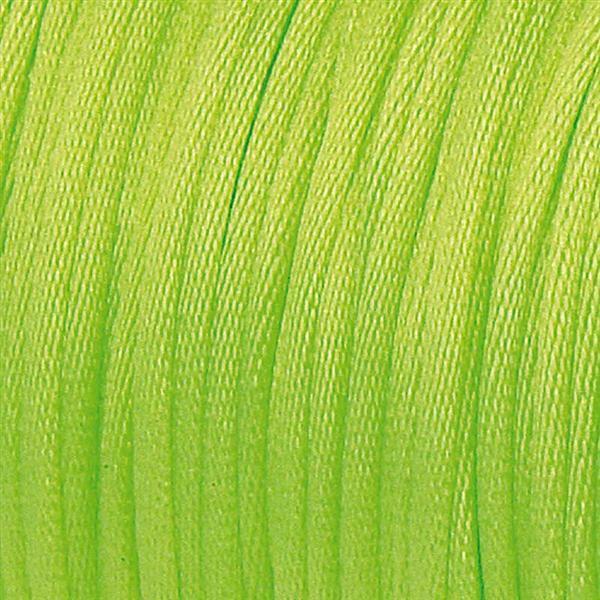 Corde de satin - Ø 1 mm, vert clair