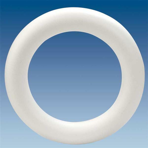 Styropor - Ring, Ø 30 x 5 cm