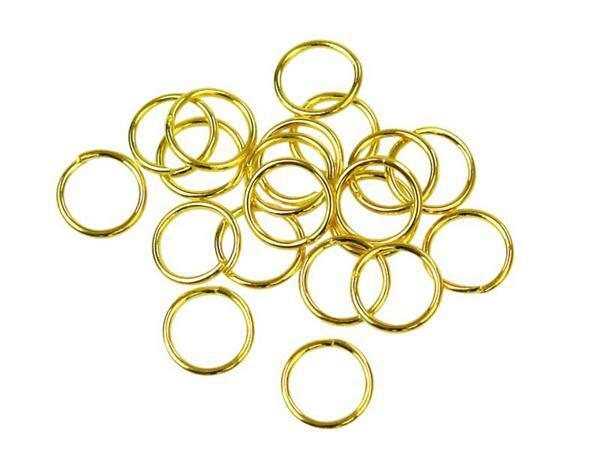 Tussenringen - 20 st., Ø 7 mm, goudkleurig