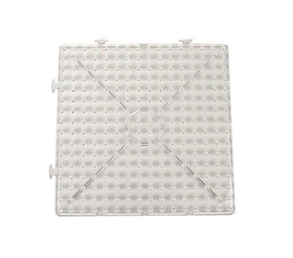 Plaque pour maxi-perles - carré, 15 cm
