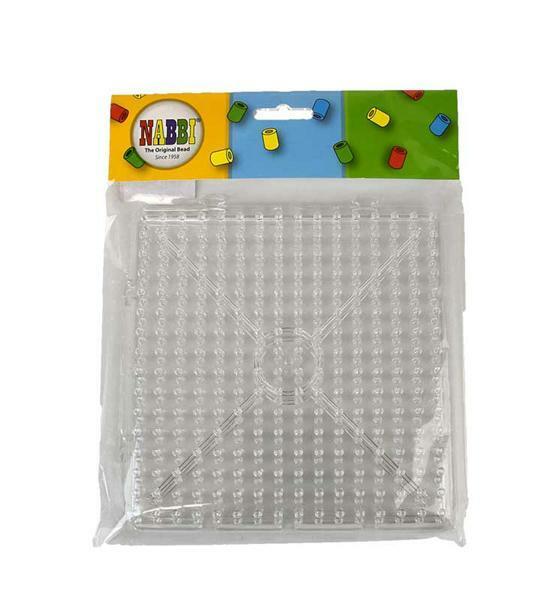 Legeplatte für Jumbo Beads - Quadrat, 15 cm