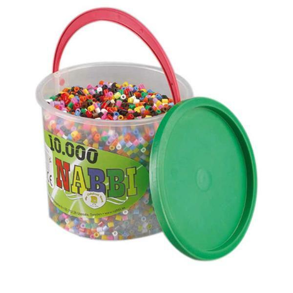 Perles à repasser - coloris standard, 10000 pces