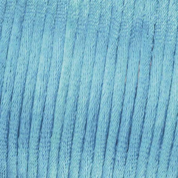 Satinkordel Ø 2 mm, hellblau