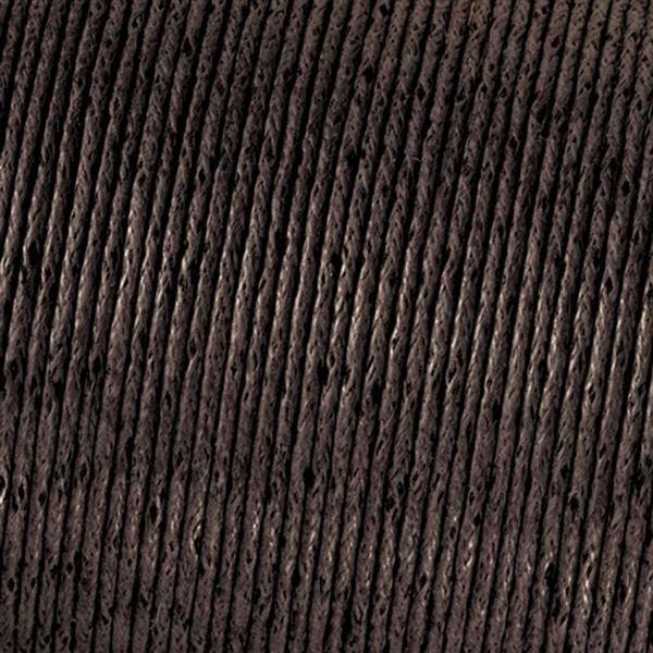 Corde en coton Ø 1 mm - 6 m, brun foncé