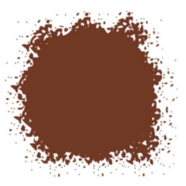 Gekleurd glazuurpoeder - 10 ml, bruin