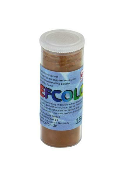 Poudre d'émaillage - 10 ml, brun