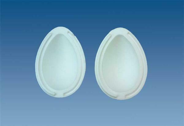 Polystyrène expansé - œuf divisible, 14 cm