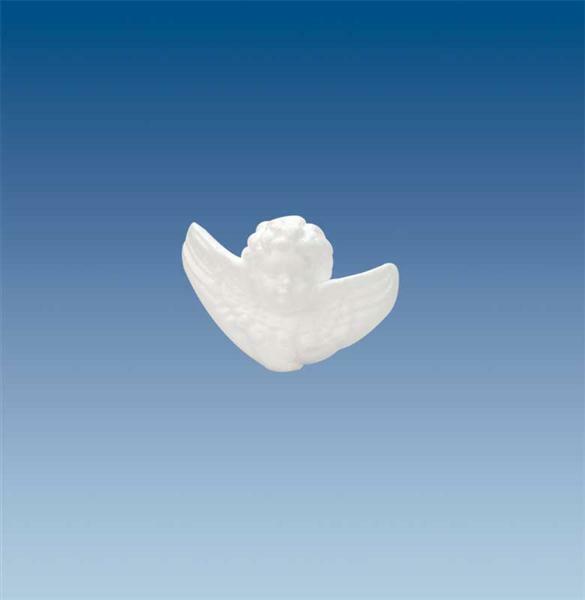 Polystyrène expansé - ange, env. 12,5 x 9 cm