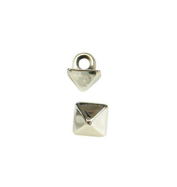 Boutons-bijoux pointes, 50 pces