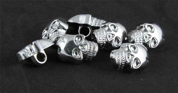 Sierknopen skull, 20 stuks