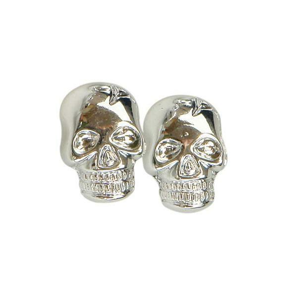 Boutons-bijoux Skull, 20 pces