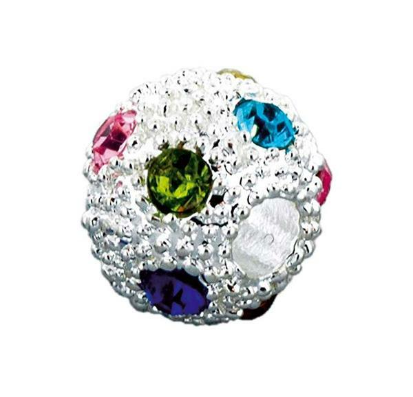 Boule strass - 1 pce, multicolore