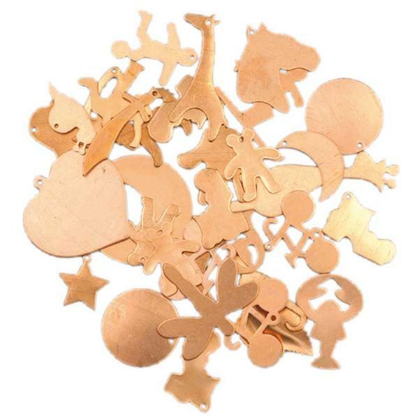 Kupferteile Set, gemischt 100 g