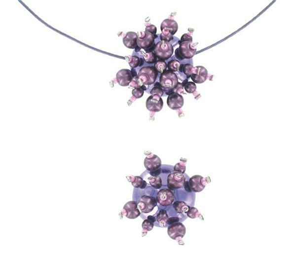 Set mini-perle magique, collier
