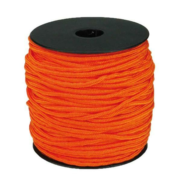 Paracord 2 mm - 50 m, oranje