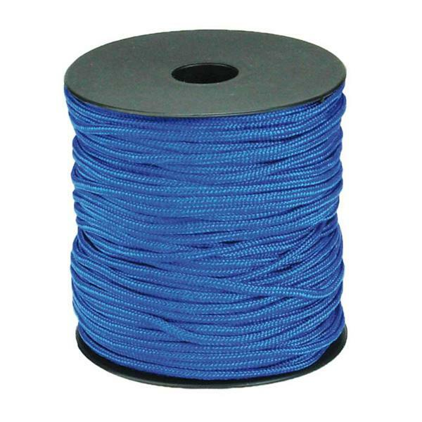Paracorde 2 mm - 50 m, bleu