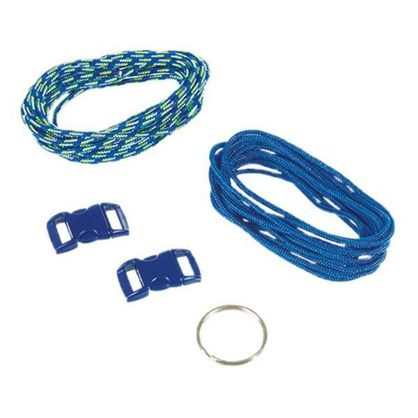 Paracord Starterset - 2 mm, blau