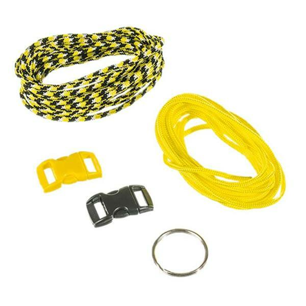 Paracorde Set de démarrage - 2 mm, jaune