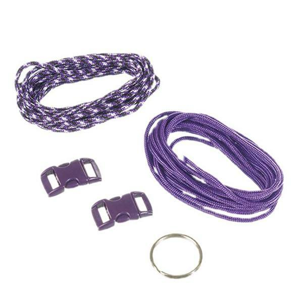 Paracorde Set de démarrage - 2 mm, lilas