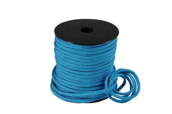 Paracorde 4 mm - 40 m, bleu