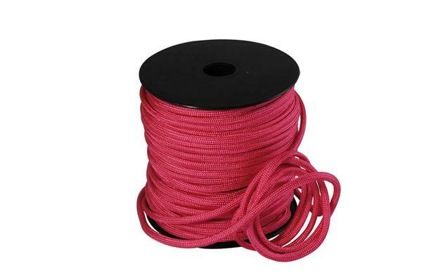 Paracord 4 mm - 40 m, pink