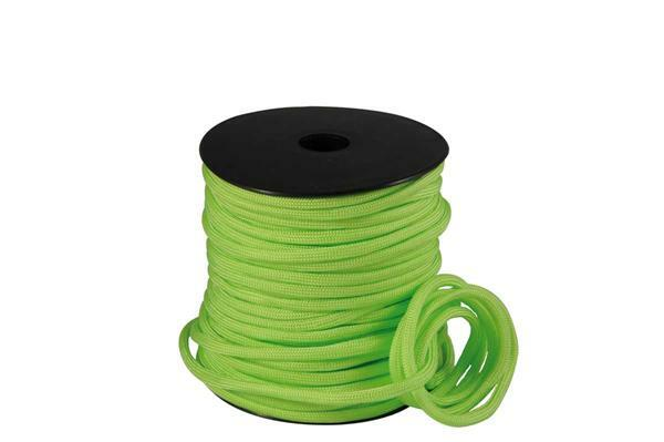 Paracord 4 mm - 40 m, neongroen