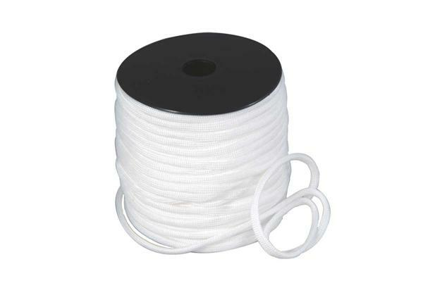 Paracord 4 mm - 40 m, wit
