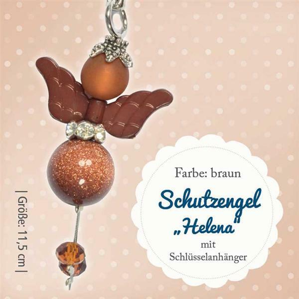 Knutselset engel Helena - bruin