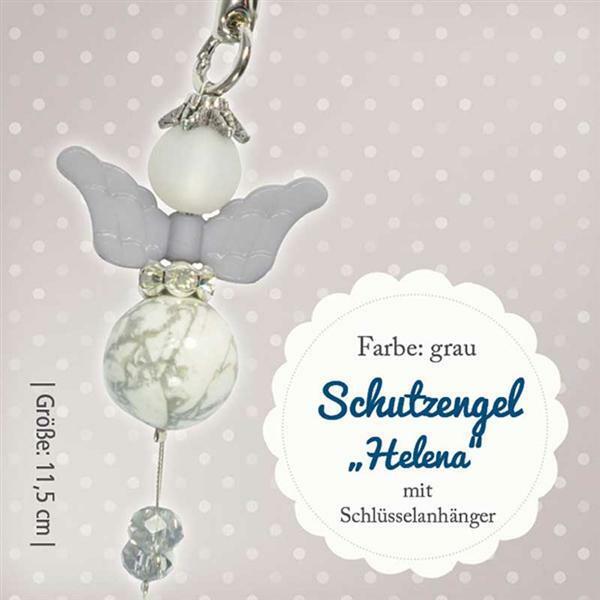 Bastelset Engel Helena - grau