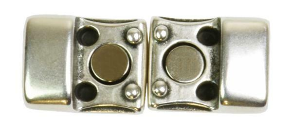 Magnetverschluss flach