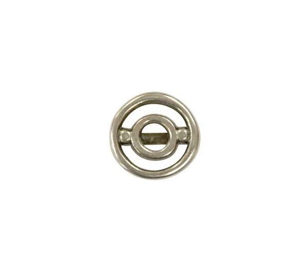 Pièce intermédiaire en métal rond - petit