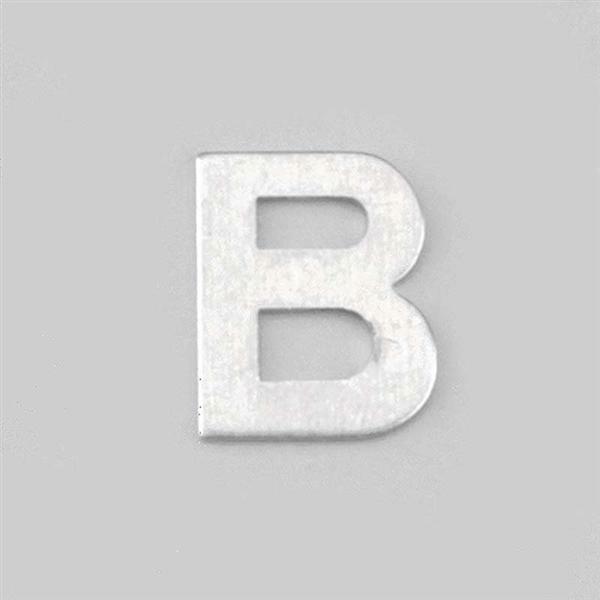 Lettre aluminium B