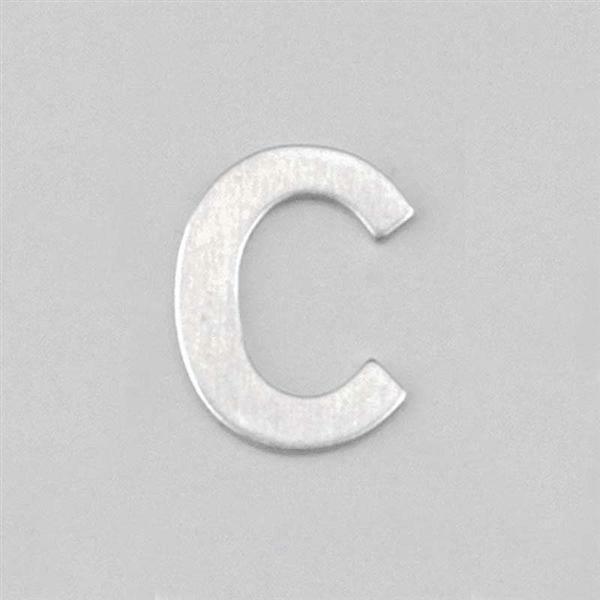 Lettre aluminium C
