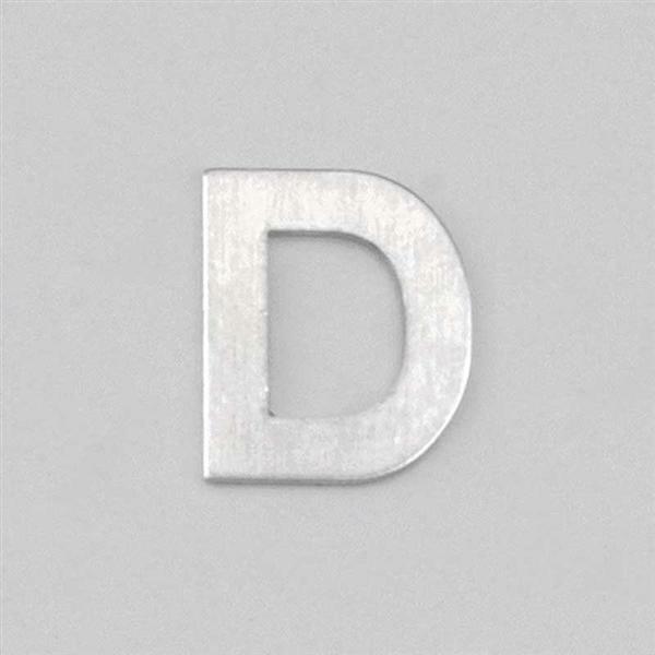 Lettre aluminium D