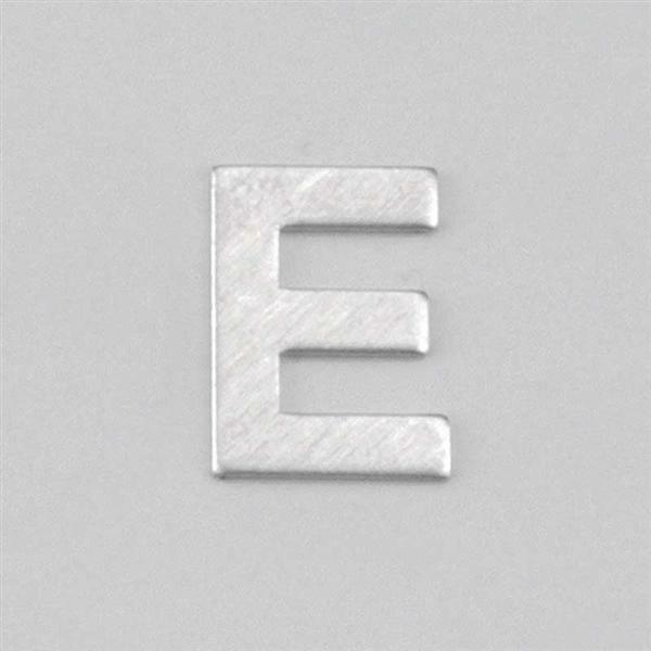Lettre aluminium E