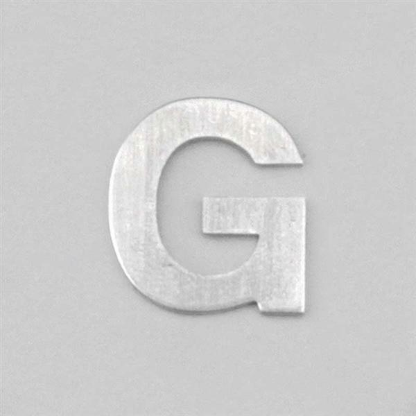 Lettre aluminium G