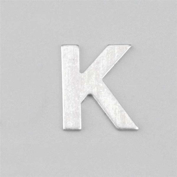 Lettre aluminium K