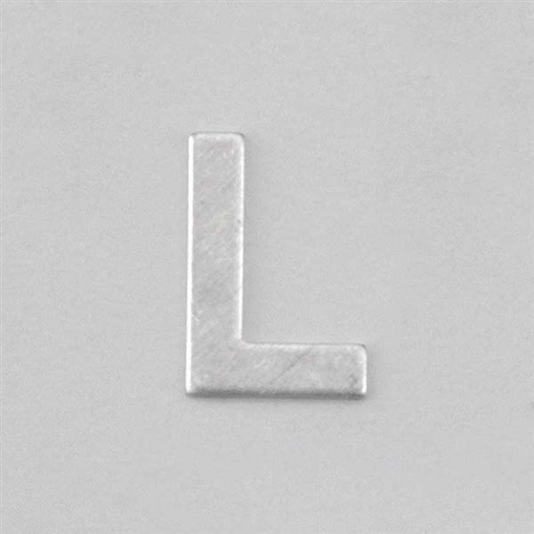 Lettre aluminium L