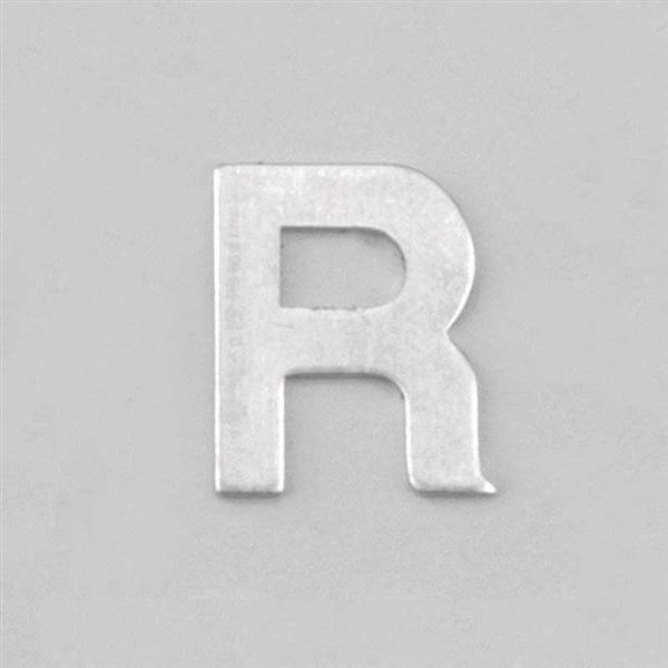 Lettre aluminium R