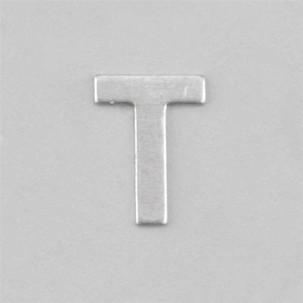 Aluminium letter T