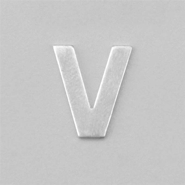 Aluminium letter V