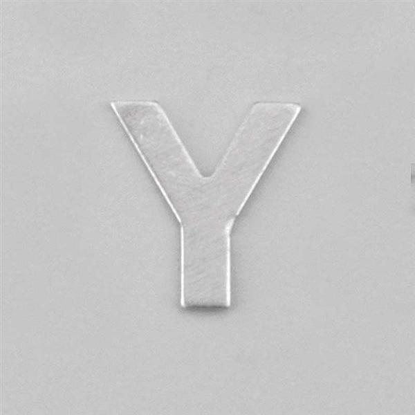 Lettre aluminium Y